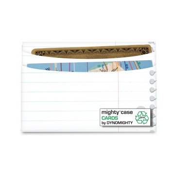 Dynomighty Mighty Card Case - 3 Rind Binder